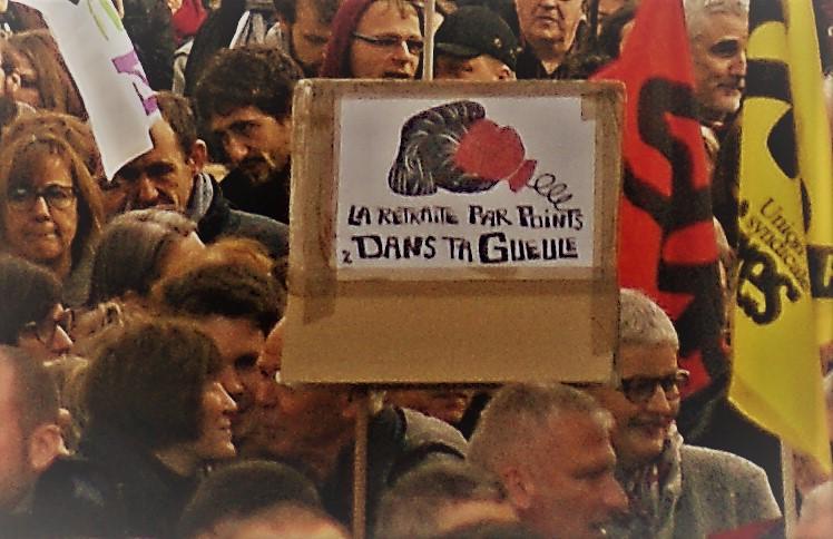 Grève Interprofessionnelle - Reims - Mardi 17 décembre 2019