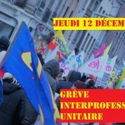 Grève interprofessionnelle unitaire à Reims