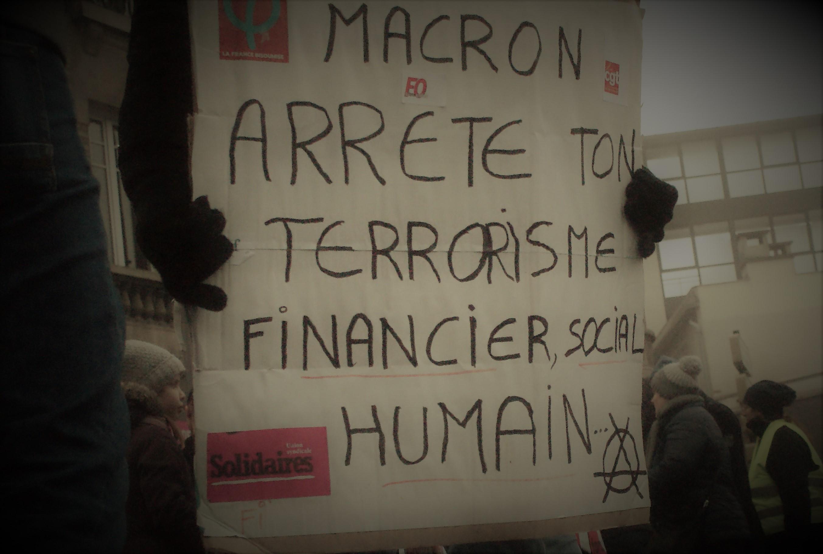 Grève Interprofessionnelle - Reims - Jeudi 5 décembre 2019