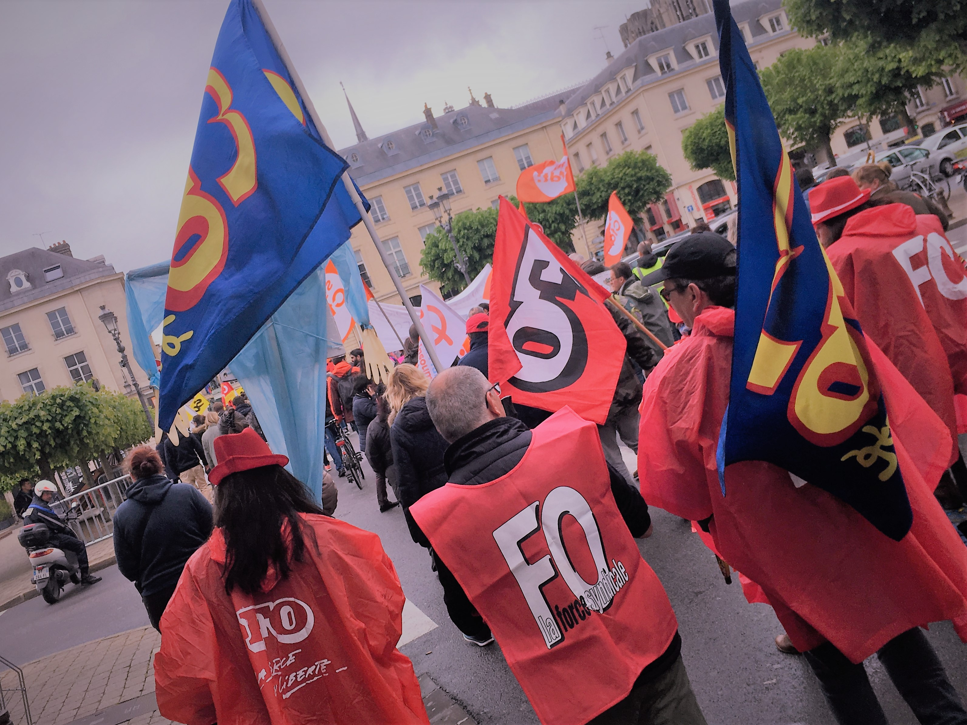 Manifestation à Reims le 9 mai 2019