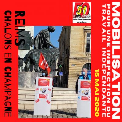 Sous Préfecture Reims - Soutien Anthony SMITH