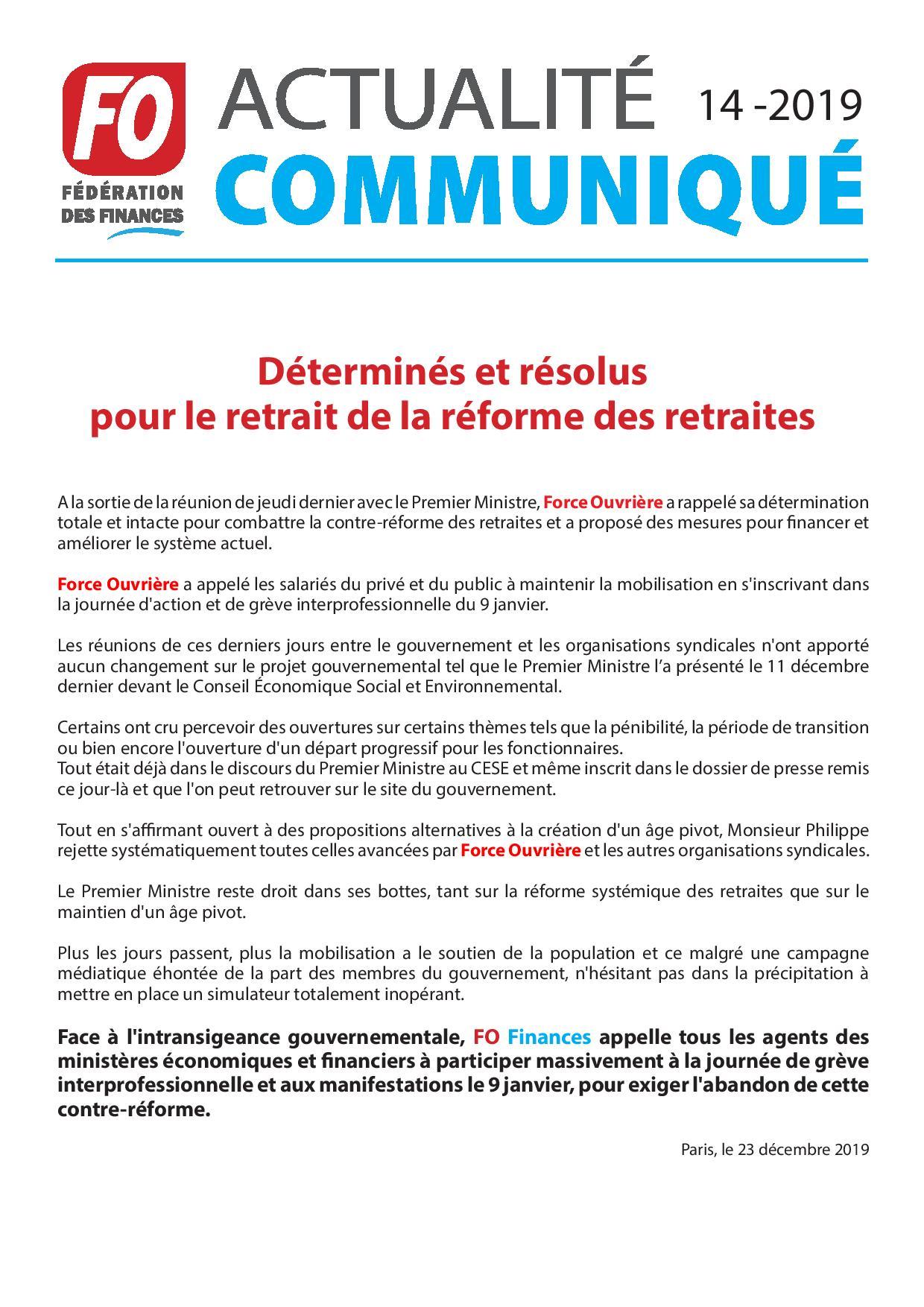 1419fedecommunique 9 janvier page 001