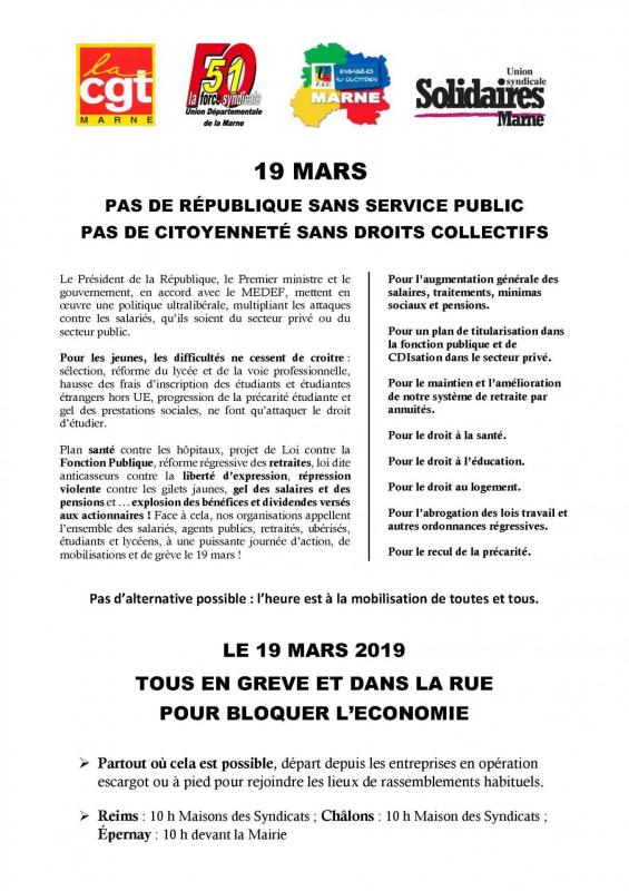 19 mars tract intersyndical