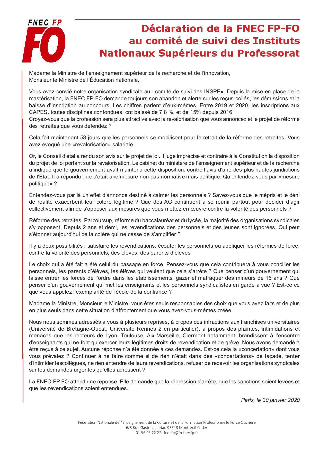 20 01 30 declaration comite de suivi page 001
