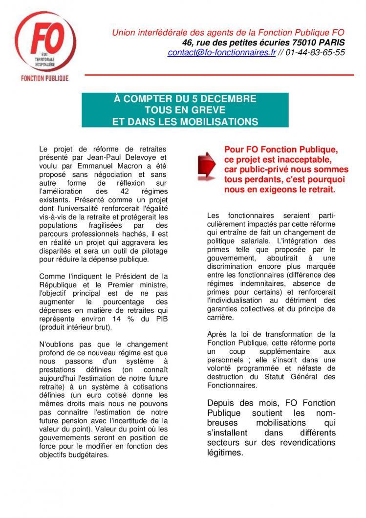 2019 11 27 tract uiafp fo a compter du 5 decembre tous en greve et dans les mobilisations page 001