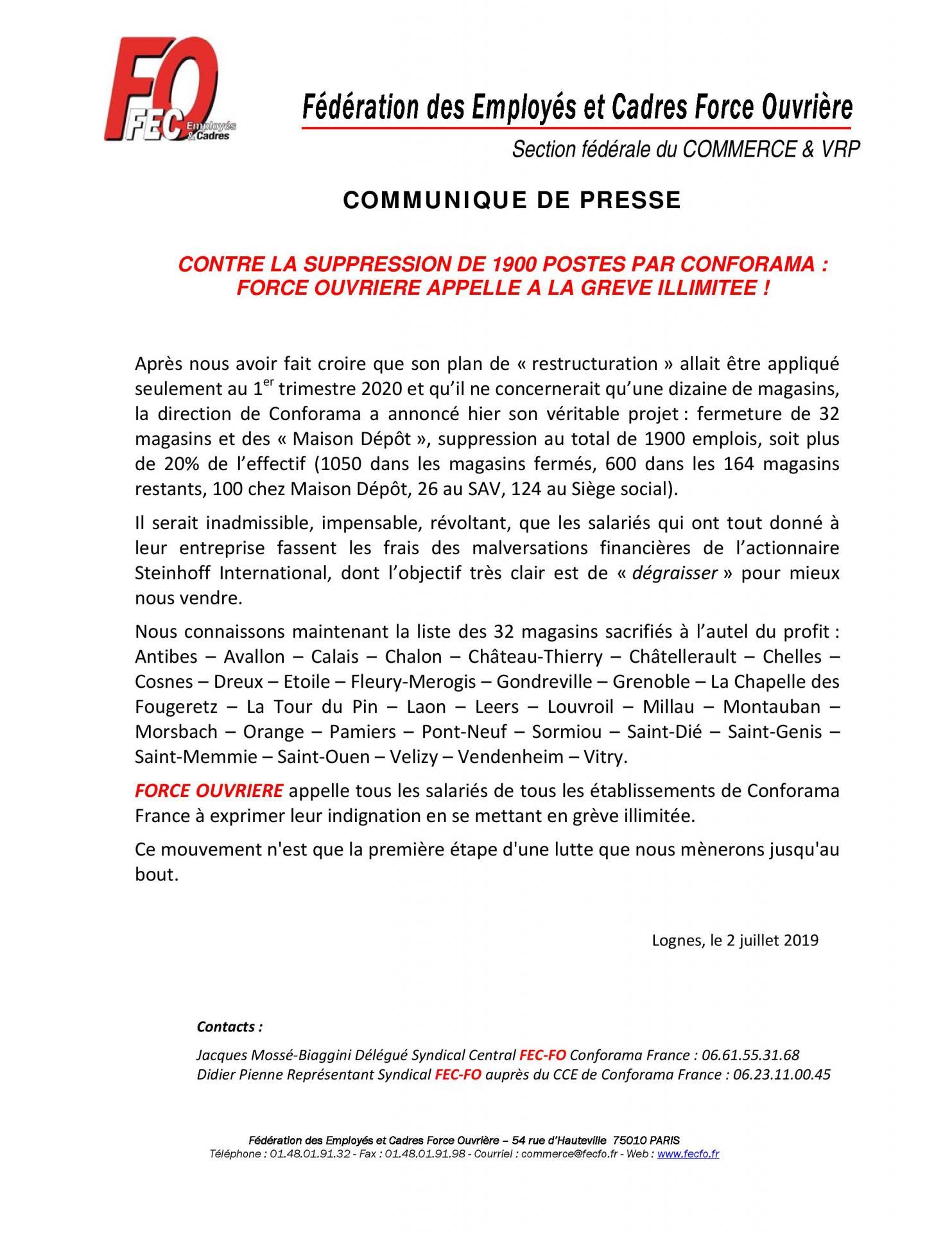 21 communique de presse conforama 3 juillet 20190703085807 page 001