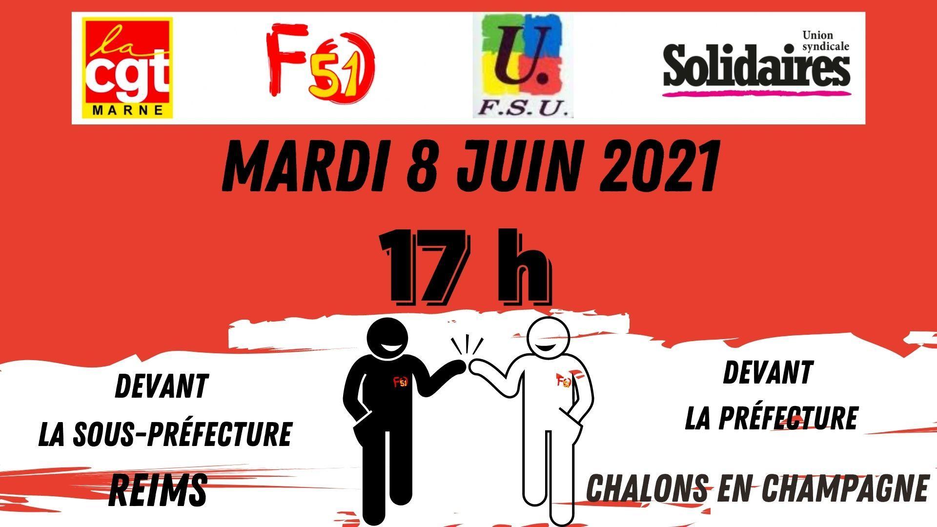 8 juin 2021 rassemblement