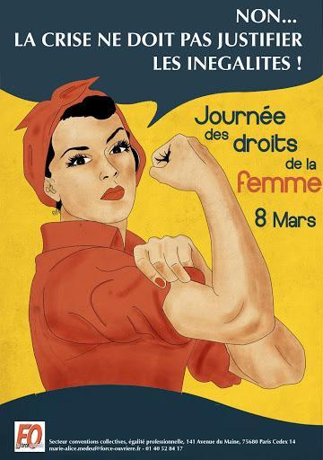 8 mars droit des femmes