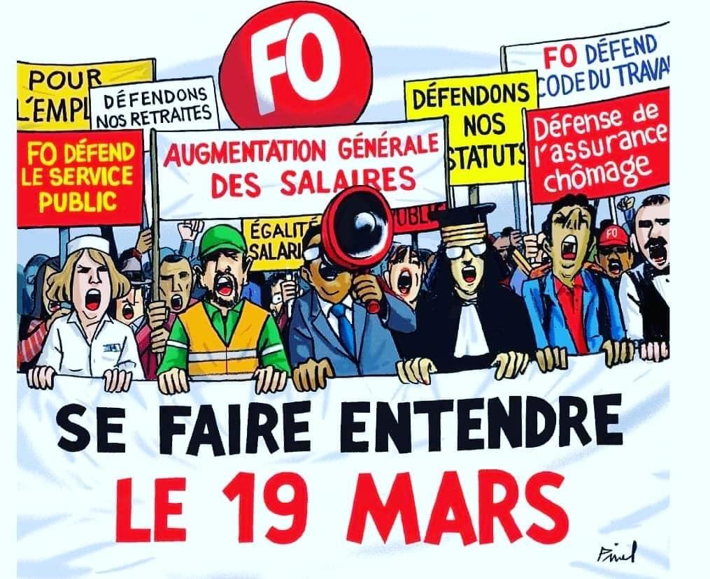 19 MARS 2019 - MOBILISATION GÉNÉRALE