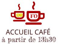 Accueil cafe 13h30