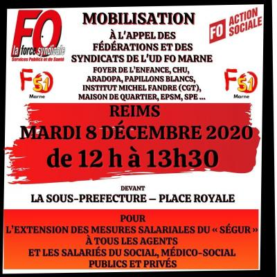 Action sociale mobilisation 08 12 20 tract insta