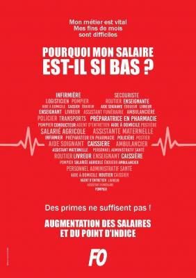 Affiche fo bas salaire