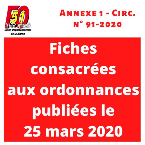 Annexe 1 circ 91 2020