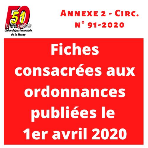 Annexe 2 circ 91 2020