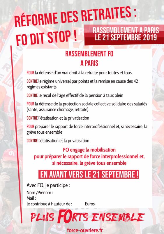 Annexe 2 circ n 122 2019 tract affichette retraite paris