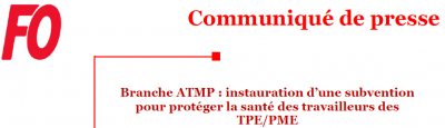 Branche ATMP