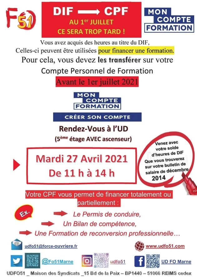 DIF VERS CPF