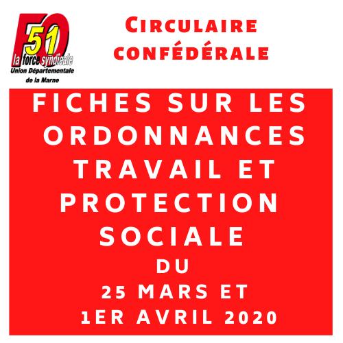 Circulaire confederale 91 2020