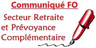 Communique fo secteur retraite et prevoyance complementaire 35