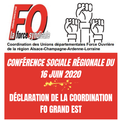 Conference grand est 16 juin 2020
