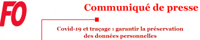 Covid 19 et tracage logo