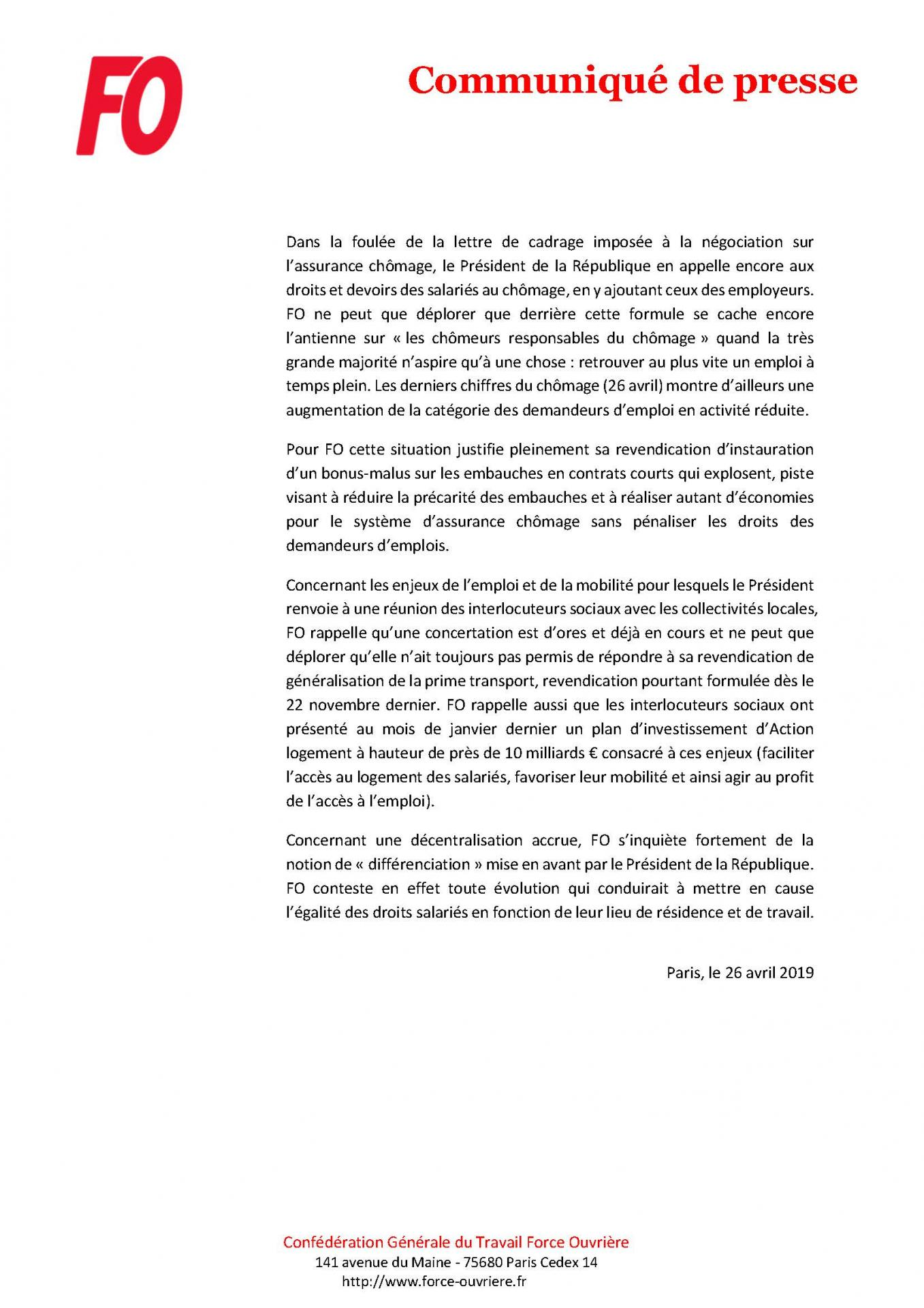 Cp fo conference de presse du president de la republique premiere reaction page 3