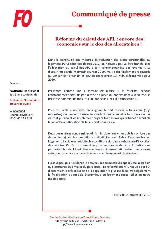 Cp fo reforme du calcul des apl encore des economies sur le dos des allocataires 20191114112339 page 001