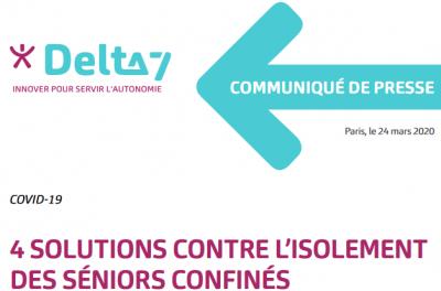 Delta7 seniors et covid19 logo