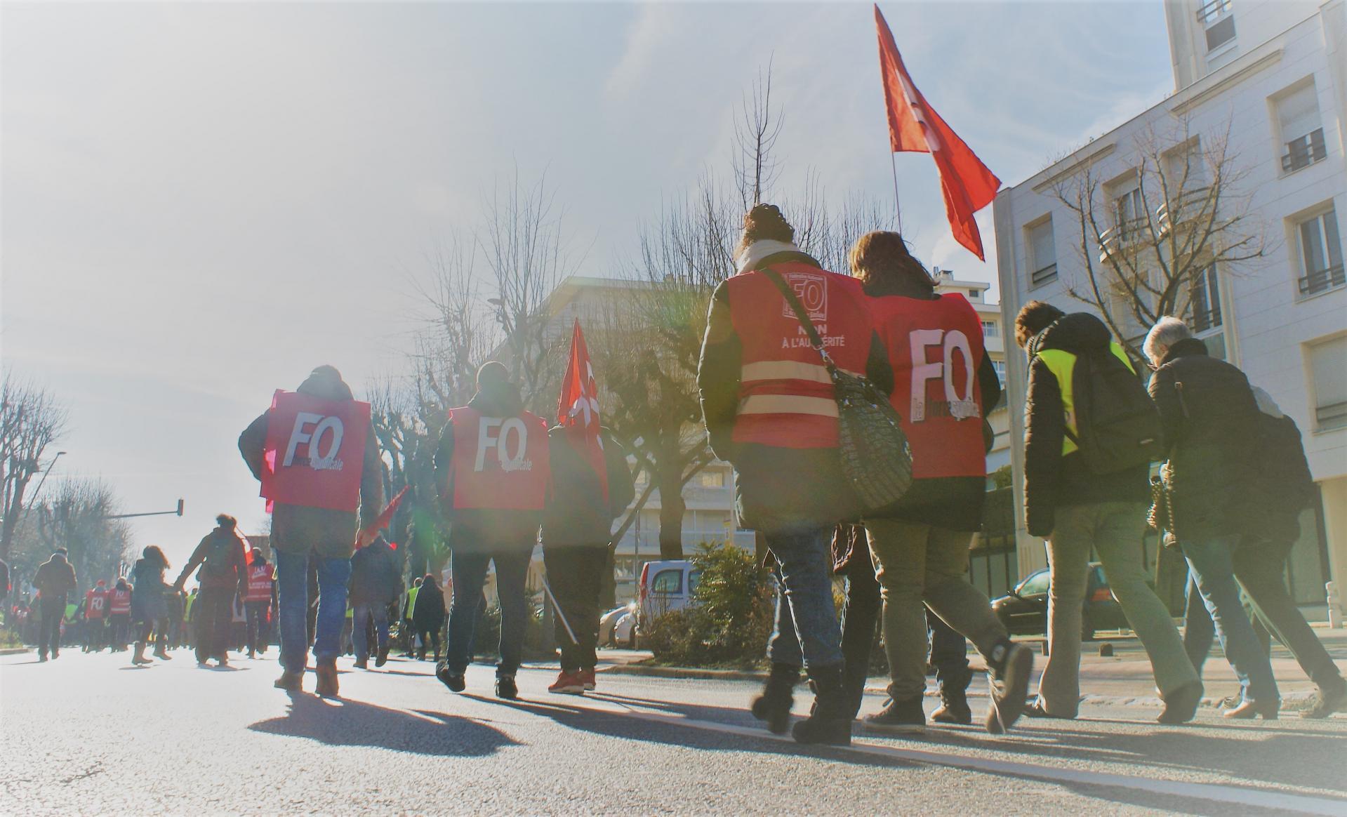 UDFO51 - Grève à Reims - 5 février 2019
