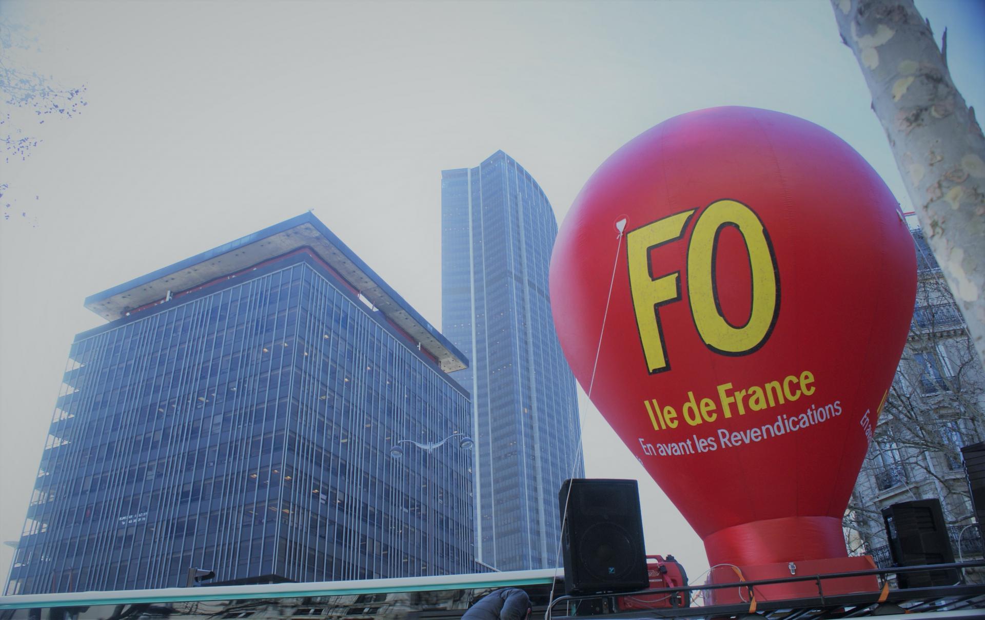 Manifestation FO Fonction Publique - Paris - 7 février 2019