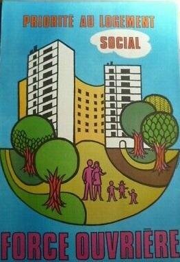 Env 1975 force ouvriere priorite au logement social