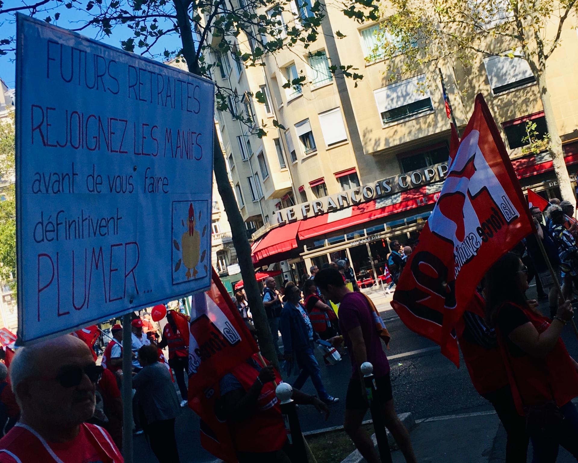 RASSEMBLEMENT - PARIS le 21 SEPTEMBRE 2019