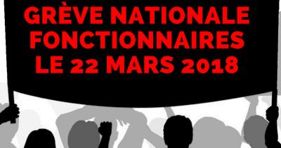 Fonctionnaires 22 mars