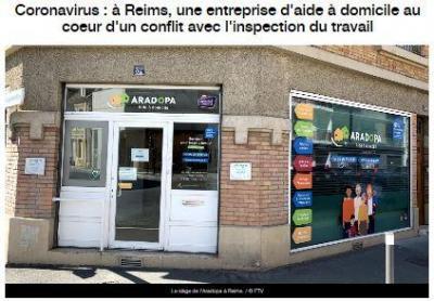 France 3 coronavirus et inspecteur du travail logo