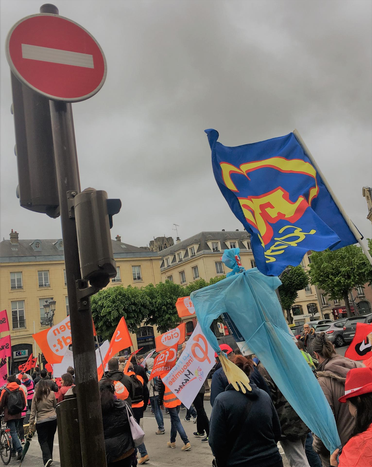 Grève unitaire Fonction Publique à Reims - 9 mai 2019