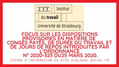 Institut du travail de strasbourg focus