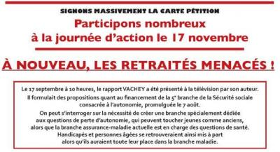 Journee d action 17 novembre 2020