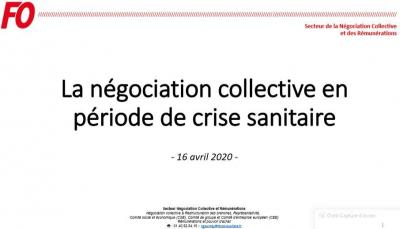 La negociation collective en periode de crise 16 04 2020 logo