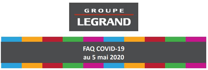 Legrand faq covid 19 au 5 mai logo