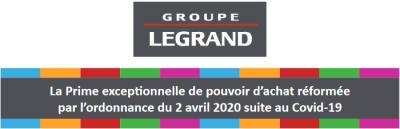Legrand prime exceptionnelle log