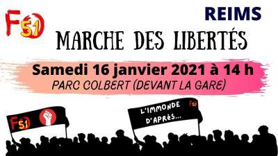 Marche des libertes twitter