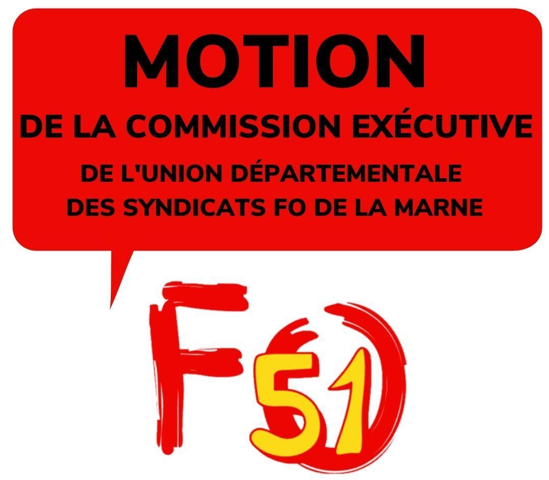 Motion ce de l udfo51