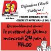 Rassemblement devant le rectorat de Reims le 24 juin à 14 h