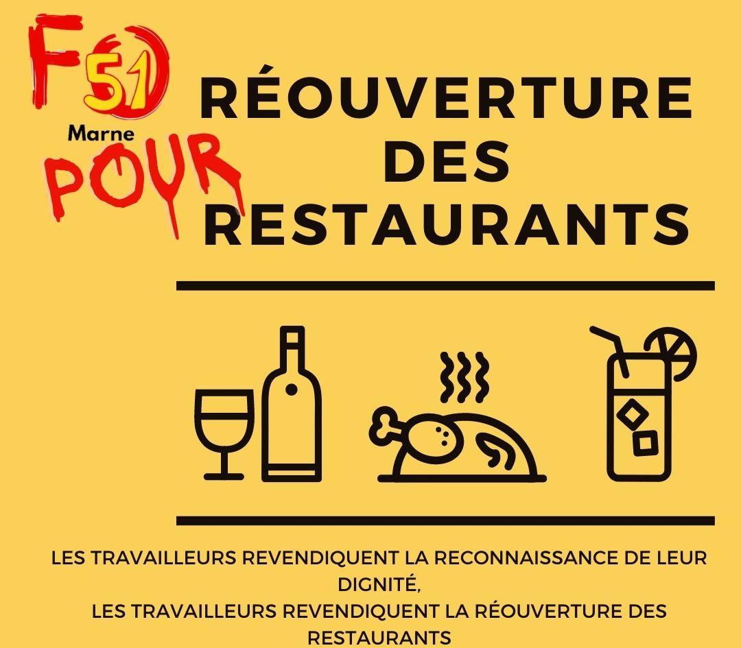 Reouverture des restaurants l udfo51