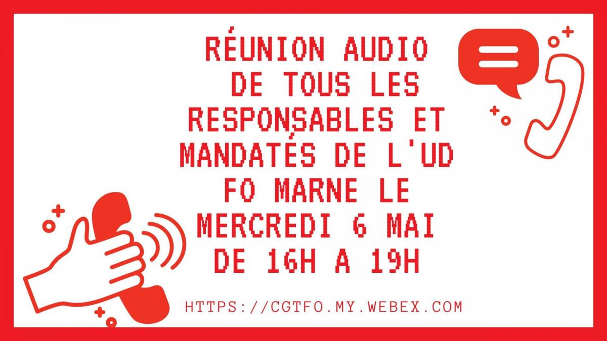 Reunion audio 6 mai