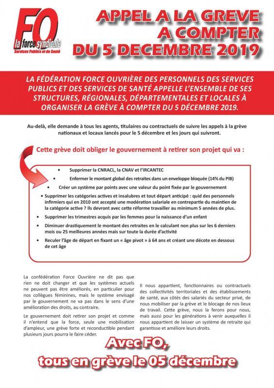 Tract appel a la greve a compter du 5 decembre 2019 page 001