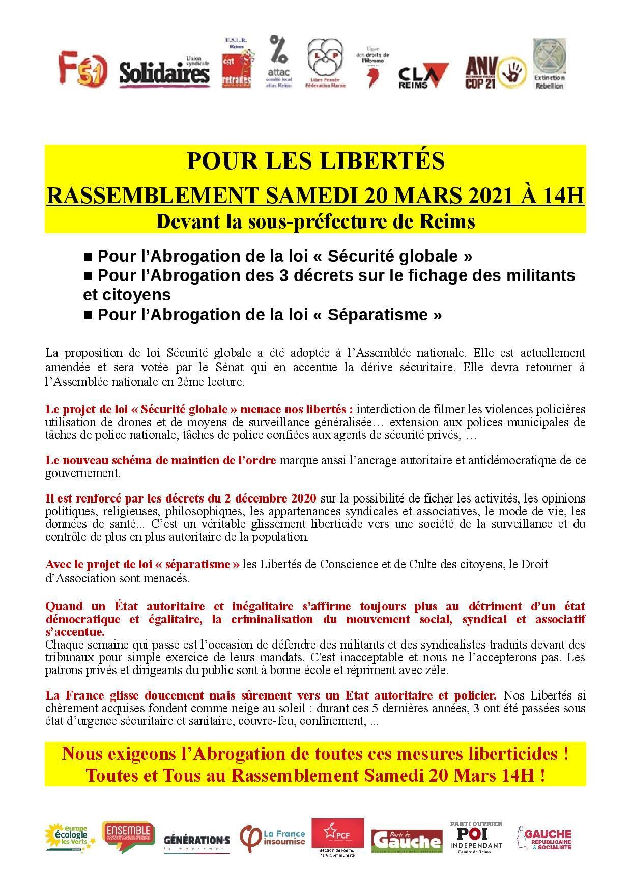 Tract rassemblement 20 mars 2021 14h de fense liberte s devant sous pref reims de finitif 4 page 001