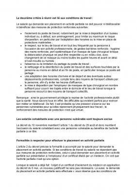 Un nouveau decret definit la liste des personnes vulnerables page 002